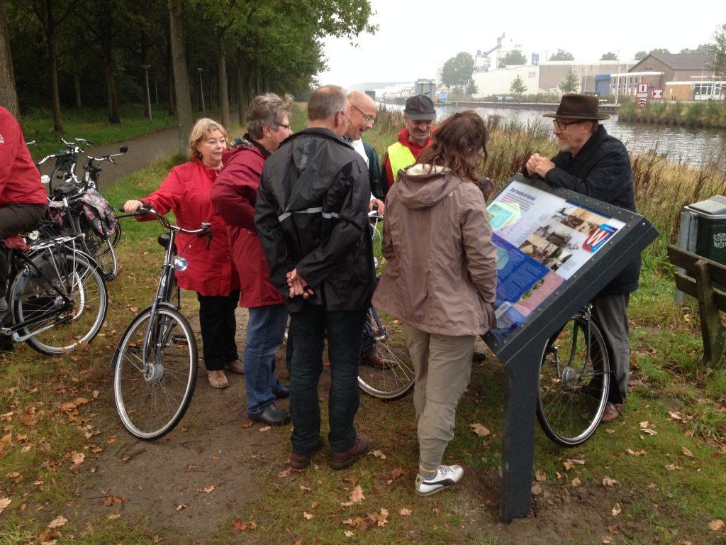 Route Waterkant met fiets